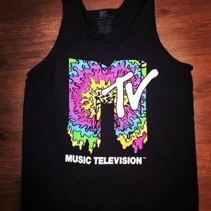 Other - Vintage MTV Black Tank Top
